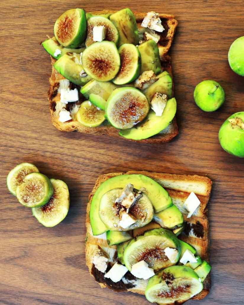 Avocado & Figs toast